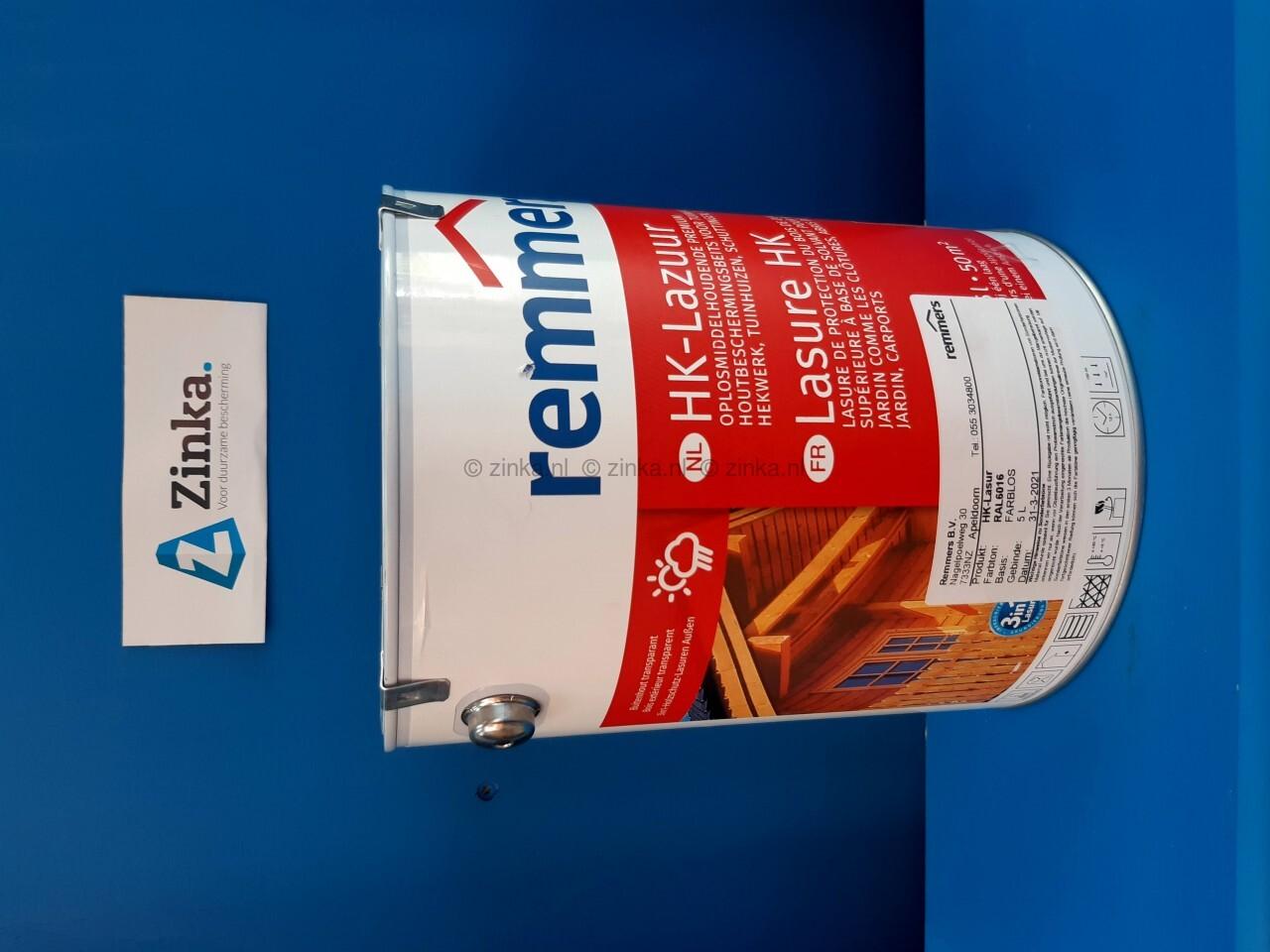 HK Lazuur - magazijn verkoop - RAL 6016 turksgroen 5 liter