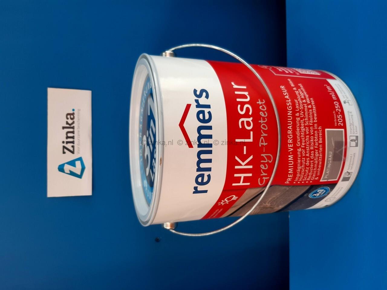 HK Lazuur - magazijn verkoop - platinagrijs 5 liter