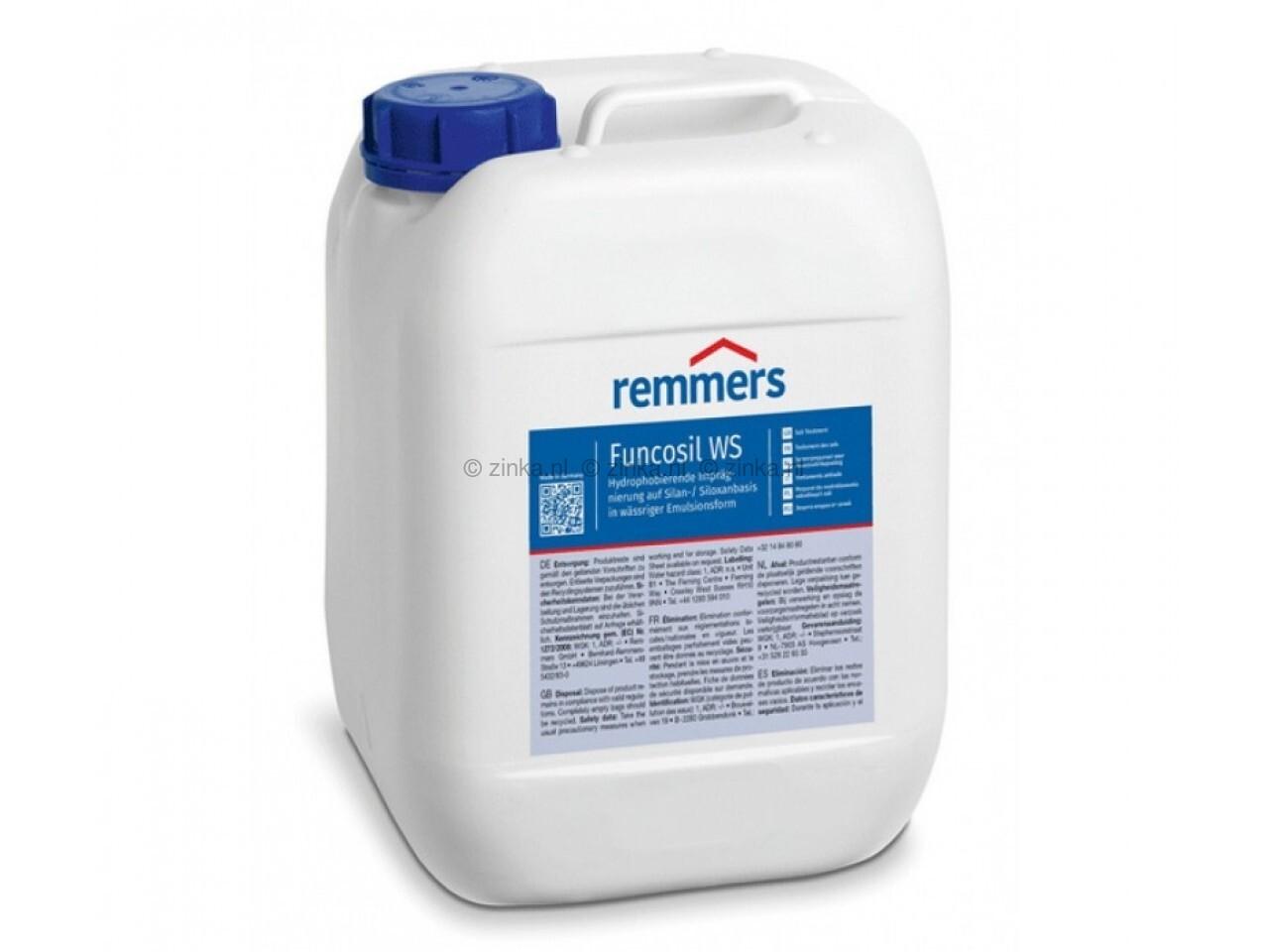 Funcosil WS 30 liter gevelimpregneer waterbasis