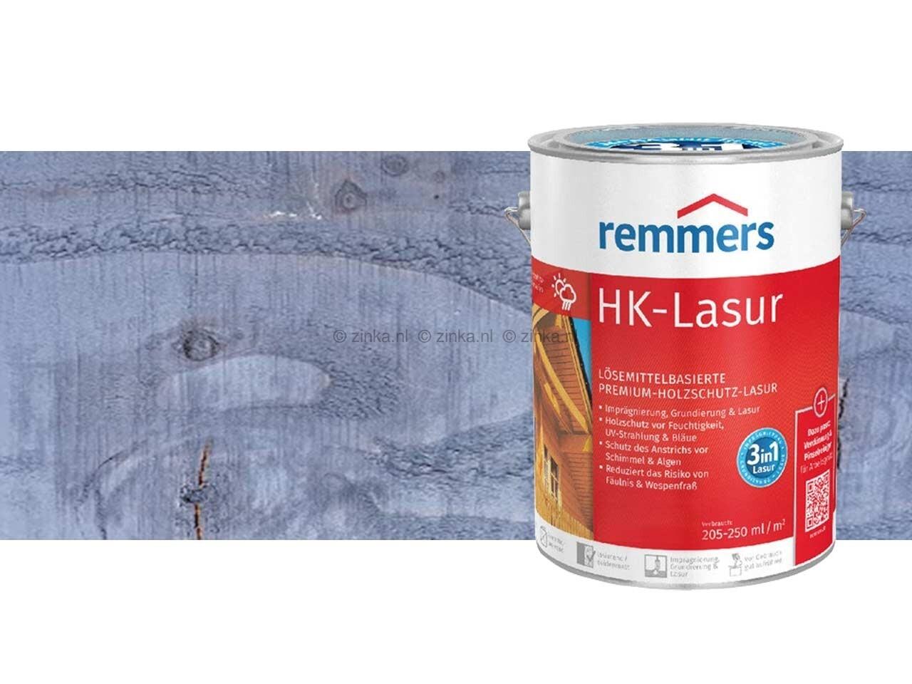 HK-Lazuur antracietgrijs 100 ml proefverpakking