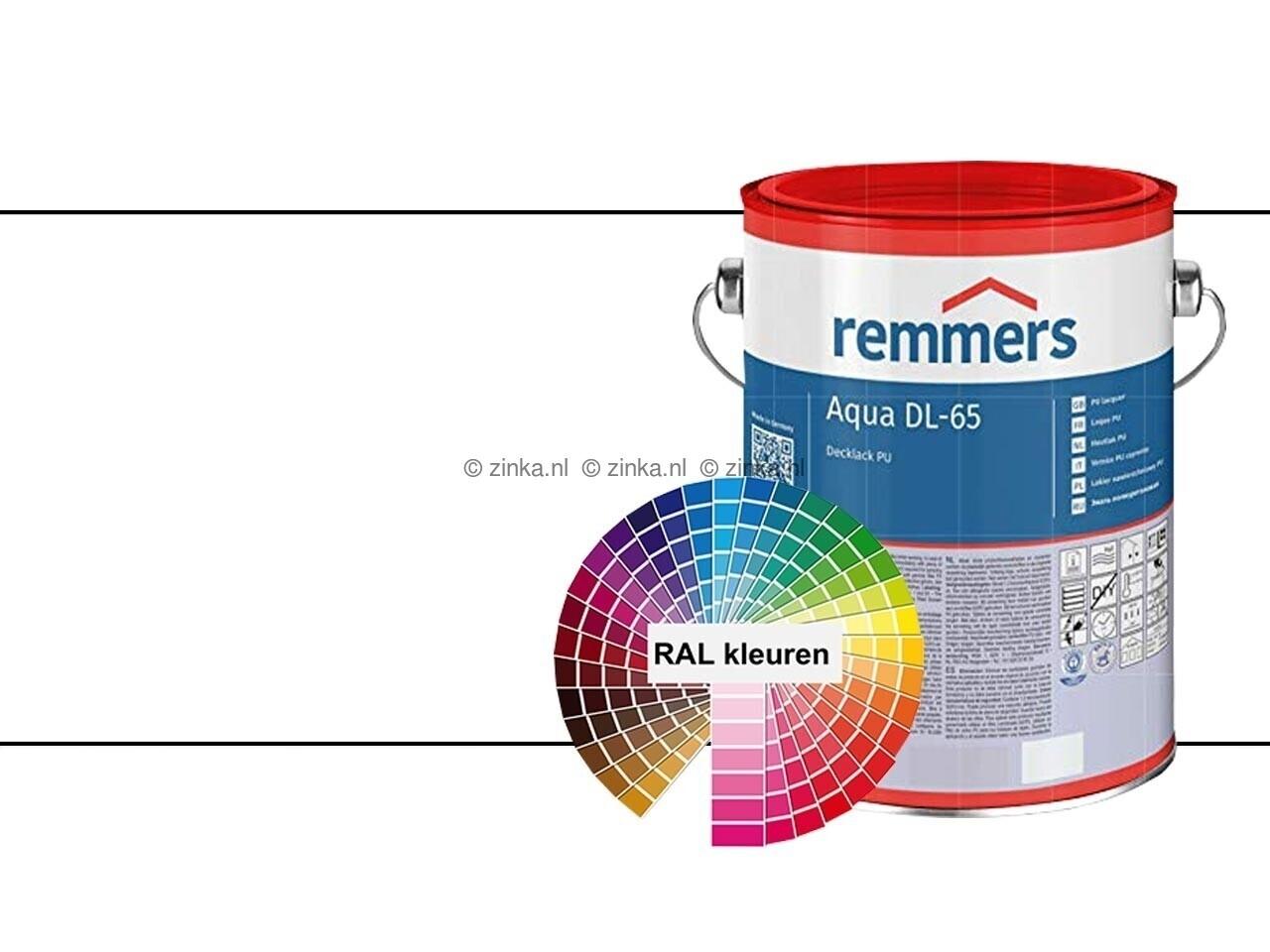 Aqua DL 65 RAL kleuren