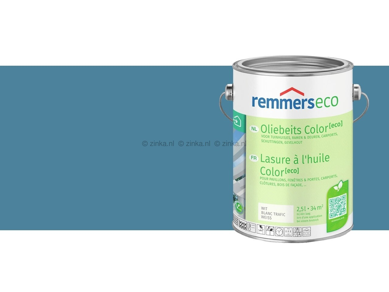 Eco oliebeits blauw