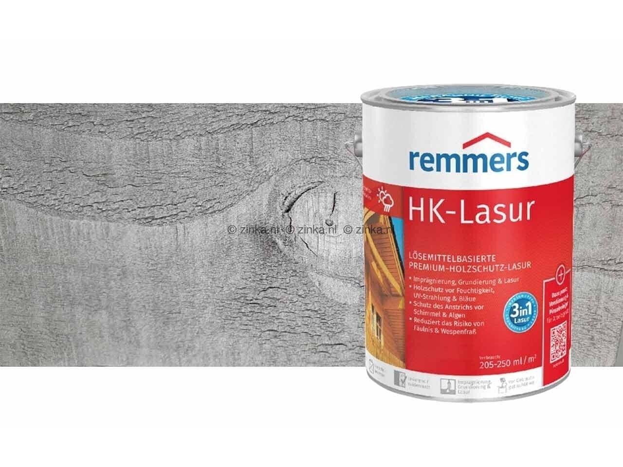 HK-Lazuur Grafietgrijs 5 liter