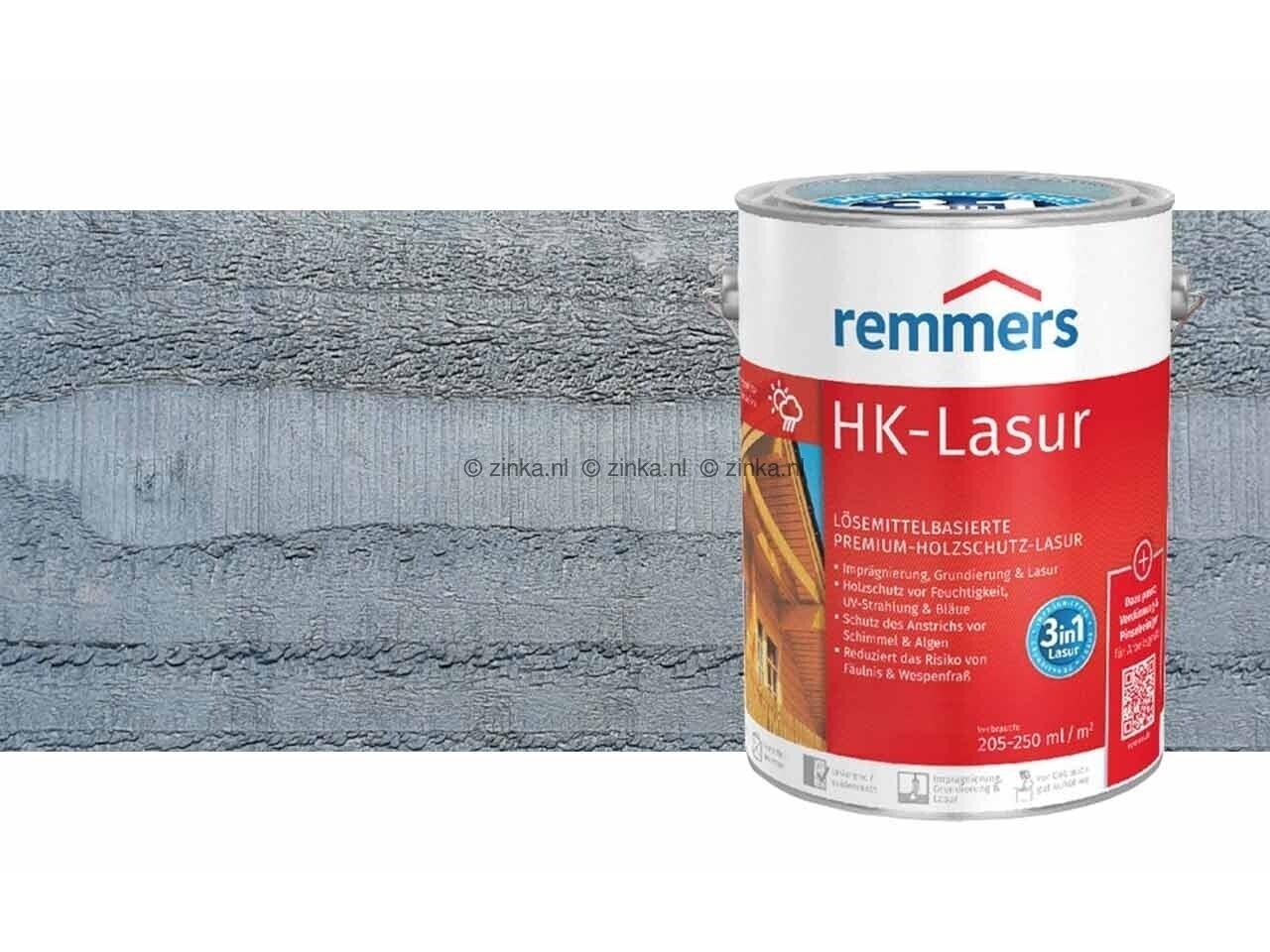 HK-Lazuur Granietgrijs 750 ml