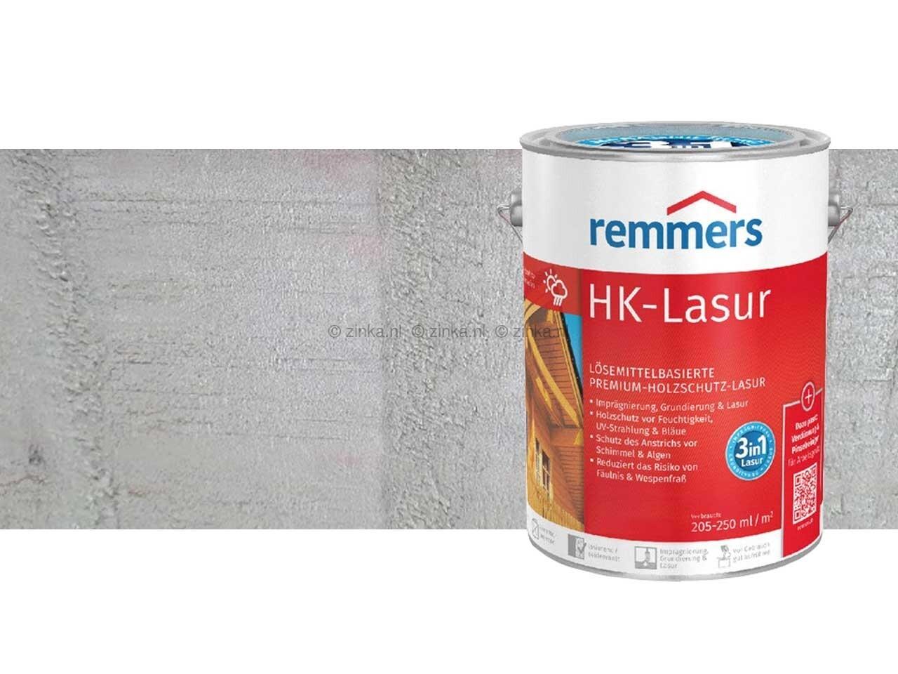HK-Lazuur Platinagrijs 5 liter