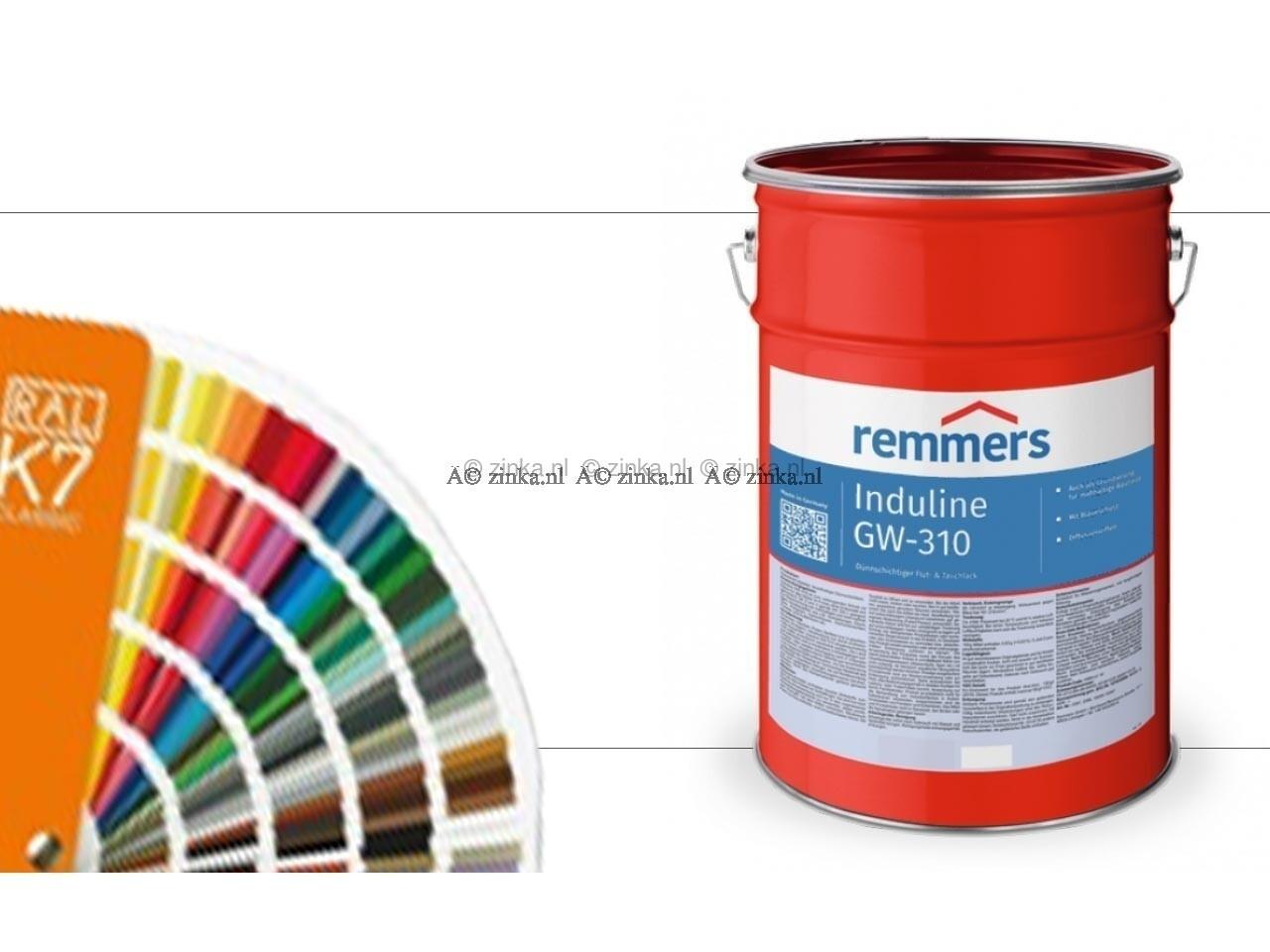 Induline GW-310 RAL-kleuren transparant