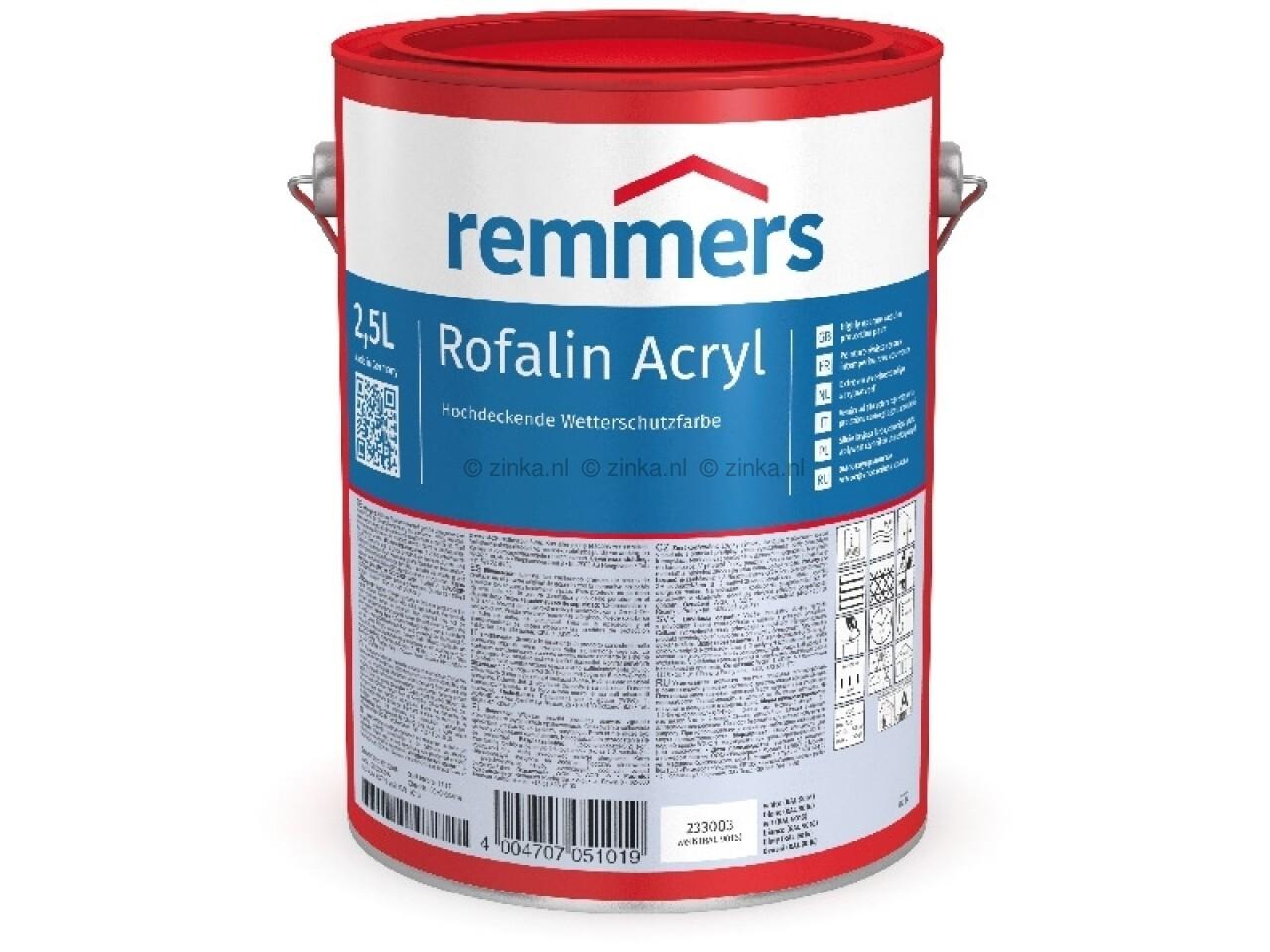 Remmers Rofalin Acryl zwart