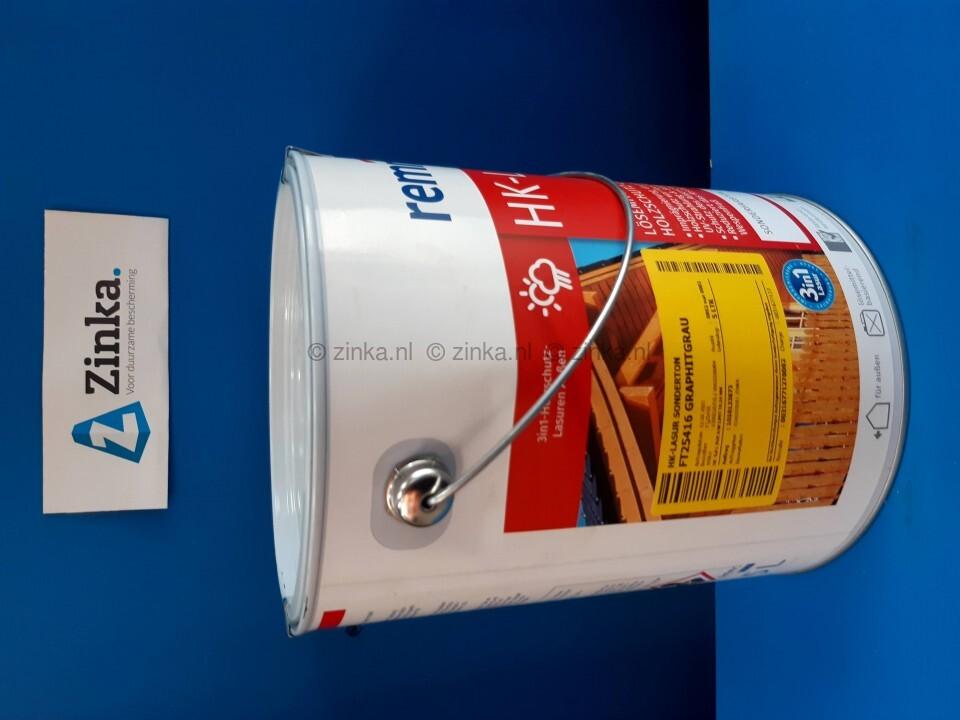 HK Lazuur - magazijn verkoop - grafiet 5 liter