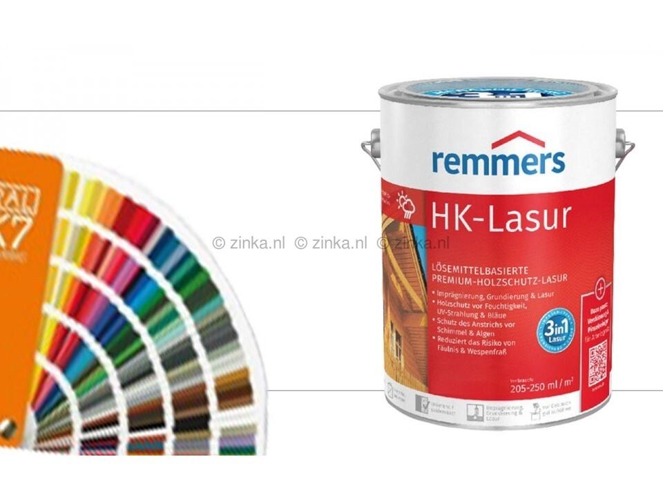HK-Lazuur RAL kleuren 20 liter