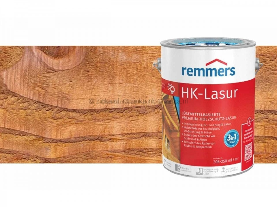 HK-Lazuur Rustiek Eiken 2,5 liter