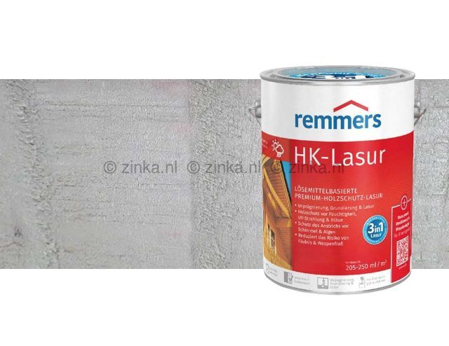 HK-Lazuur platinagrijs 100 ml proefverpakking