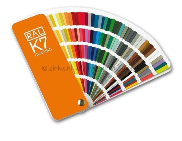 RAL kleurenwaaier K7 ZK 12