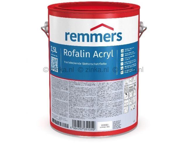 Rofalin Acryl ZK 2336 zwart