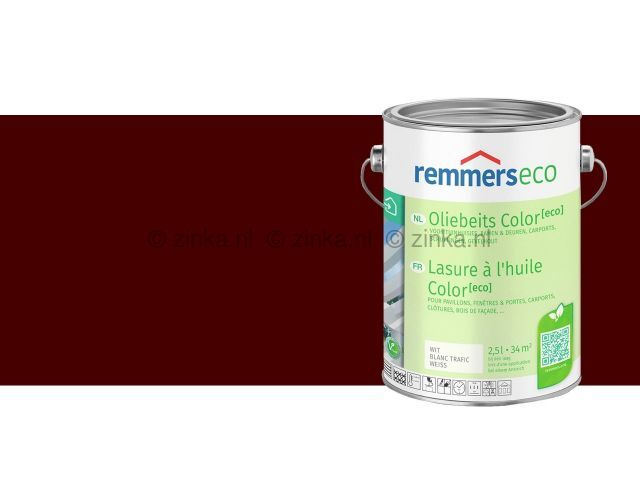 Oliebeits Color Eco Roodbruin