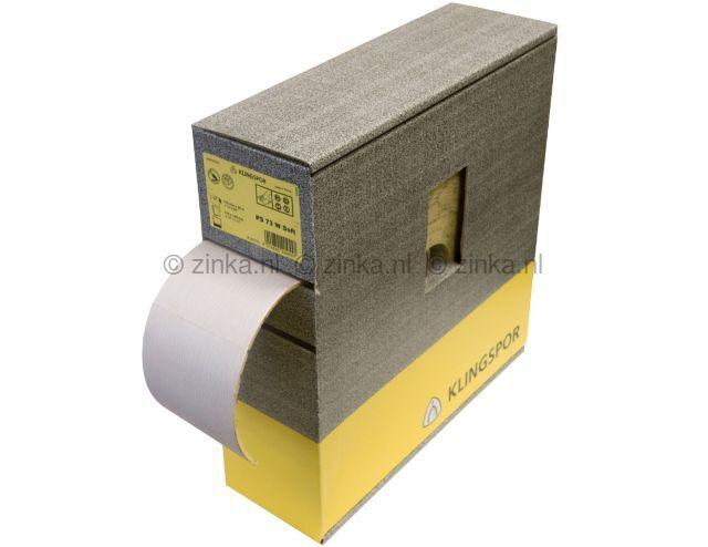 Schuurpapier pad ZK 30 korrel 120 5 stuks