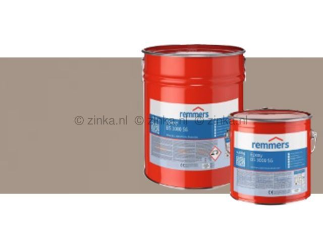 Epoxy BS 3000 SG zijdeglans basaltgrijs RAL7012 10 kilo