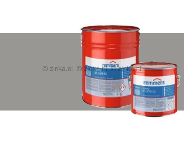 Epoxy BS 3000 SG zijdeglans zilvergrijs RAL7001
