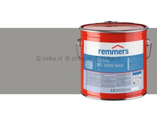 Epoxy BS 2000 zijdemat zilvergrijs