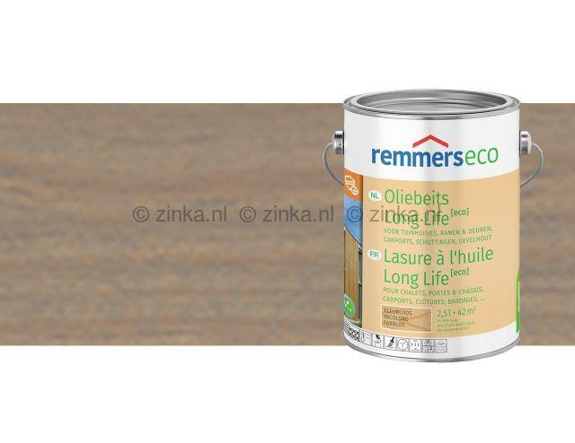 Oliebeits Long Life Eco ZK 1564 zilvergrijs