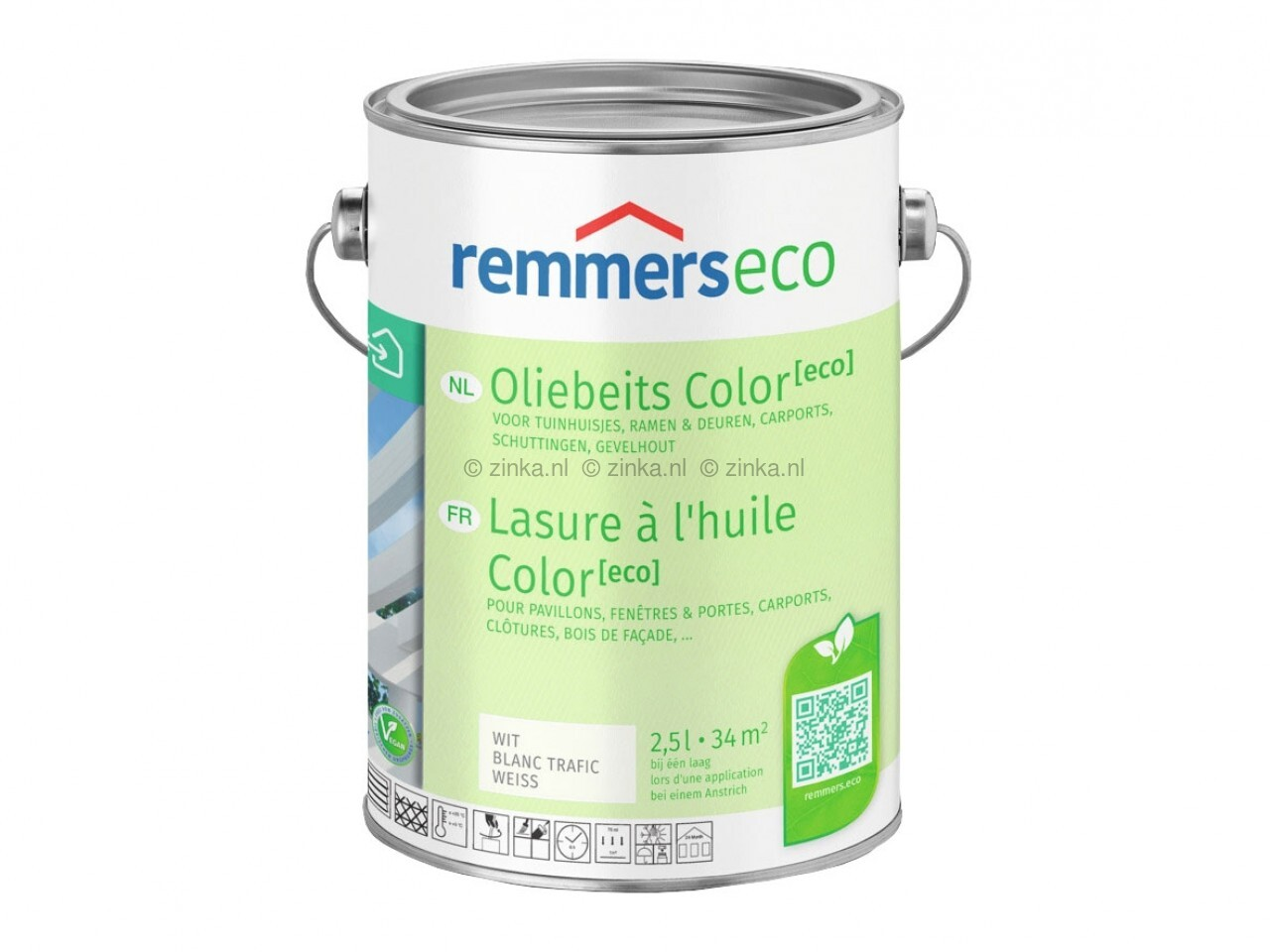 Remmers antraciet oliebeits color eco