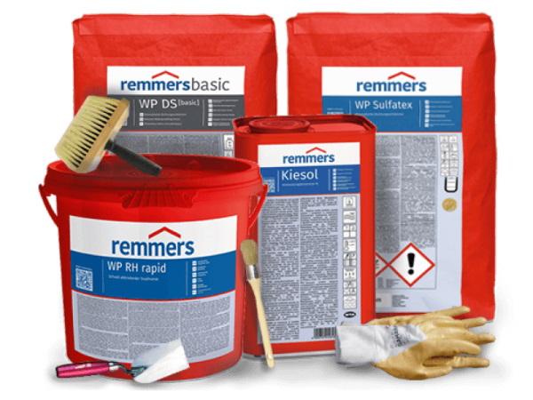 Het afdichten van de kelder aan de binnenzijde doet u met de producten van Remmers